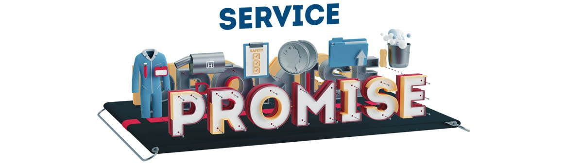service promise page