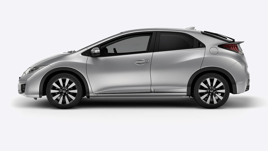 Honda Civic - Available Alabaster Silver Metallic