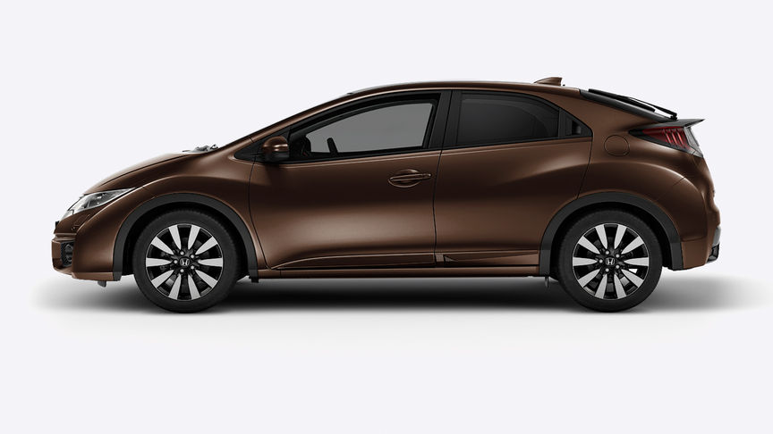 Honda Civic - Available in Golden Bronze Metallic