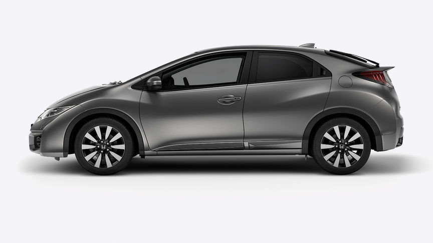 Honda Civic - Available in Crystal Black Pearl
