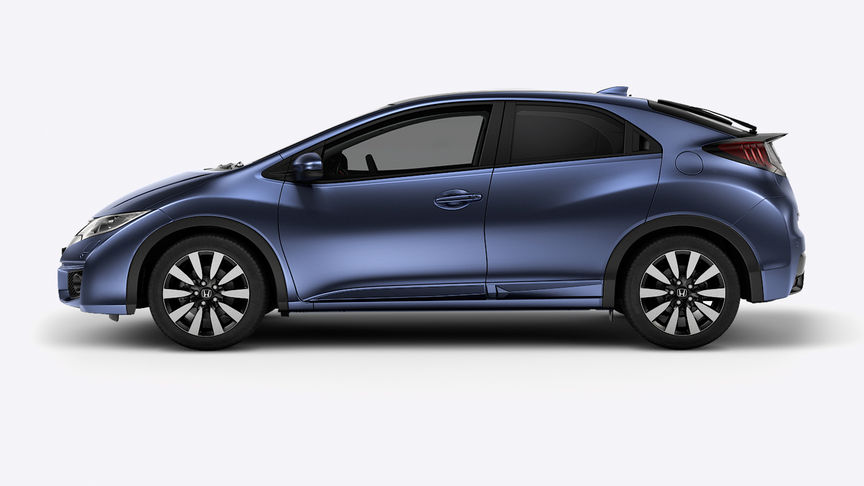 Honda Civic - Available in Twilight Blue Metallic