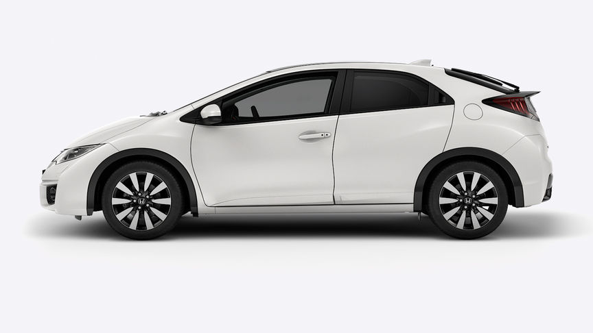 Honda Civic - Available in White Orchid Pearl