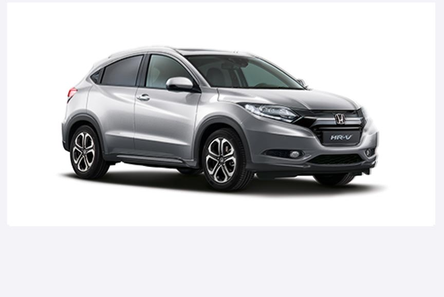 Honda HR-V - Available in Silver Metallic