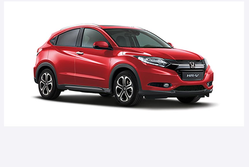 Honda HR-V - Available in Milano Red