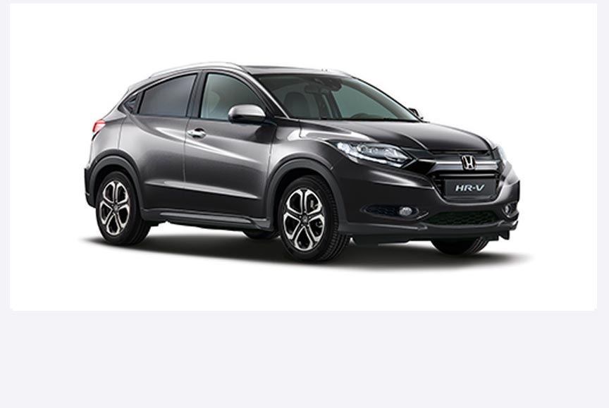 Honda HR-V - Available in Steel Metallic