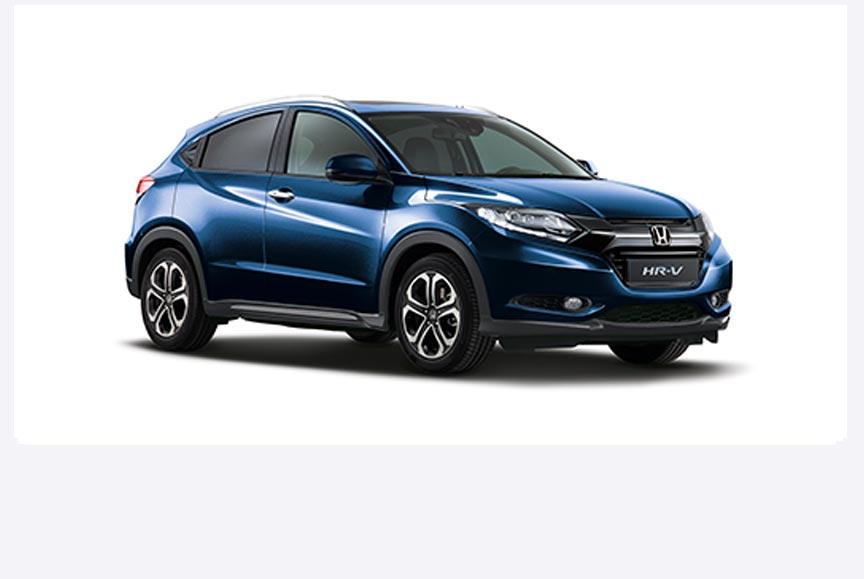 Honda HR-V - Available in Morpho Blue Pearl