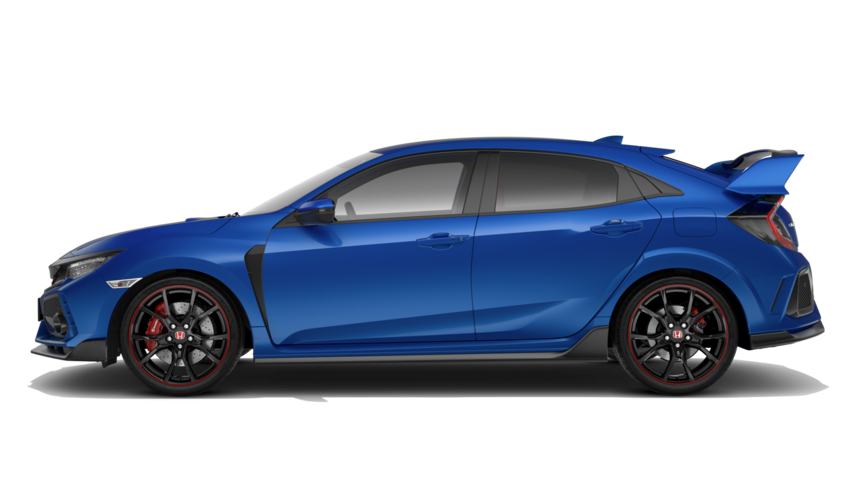 Honda Civic Type R - Available in Sporty Metallic Blue