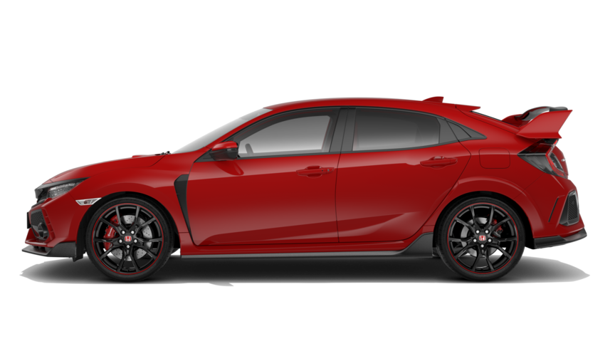 Honda Civic Type R - Available Rallye Red
