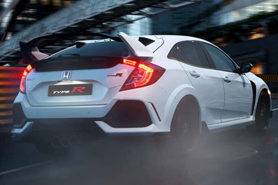 Honda Civic Type R - Powerful and poised