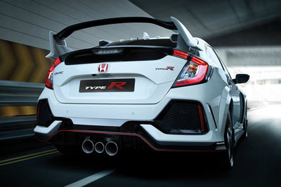 Honda Civic Type R - +R driving mode