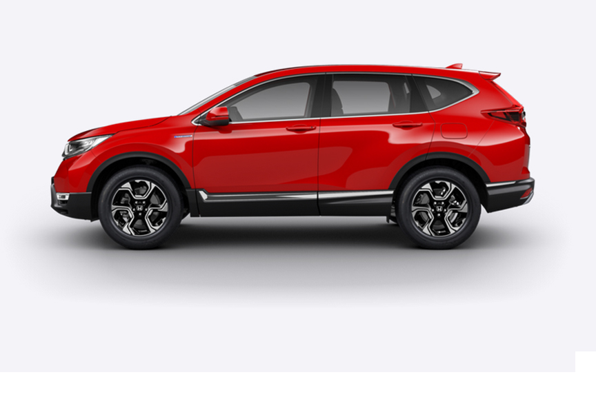 Honda CR-V Hybrid - Available in Rallye Red