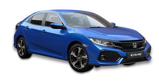 Honda Jazz - Available in Brilliant Sporty Blue
