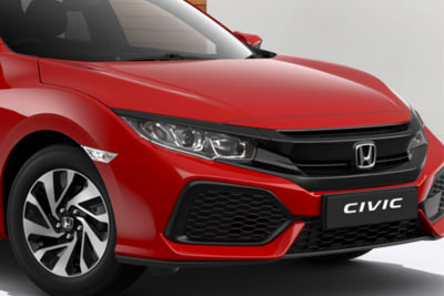 Honda Civic - Undeniably distinctive