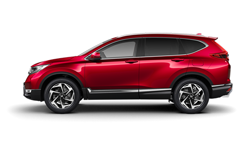 Honda CR-V - Available in Premium Crystal Red Metallic