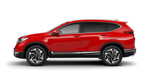 Honda CR-V - Available in Rallye Red