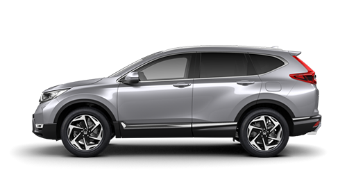 Honda CR-V - Available in Luna Silver Metallic